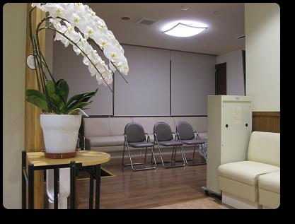 大久保内科呼吸器科クリニック診察室